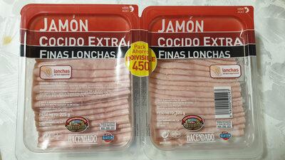 Jamón cocido extra finas lonchas - Producto - es