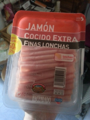 Jamón cocido extra finas lonchas - Producte