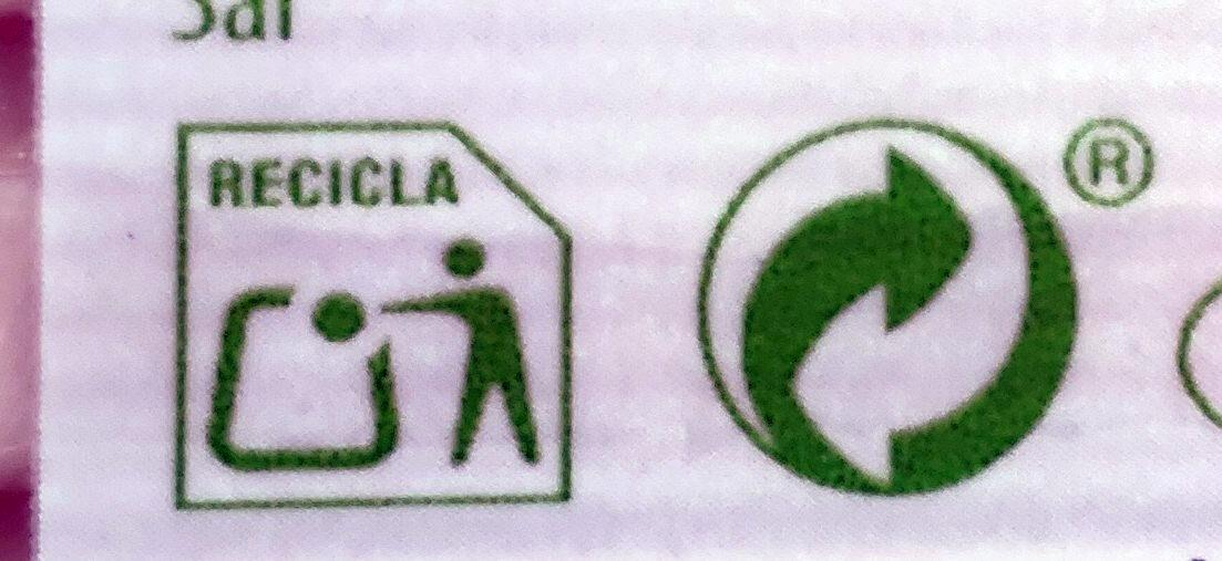 Jamón cocido natural - Recyclinginstructies en / of verpakkingsinformatie - es