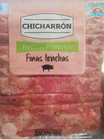 Chicharron frito con pistachos - Producto