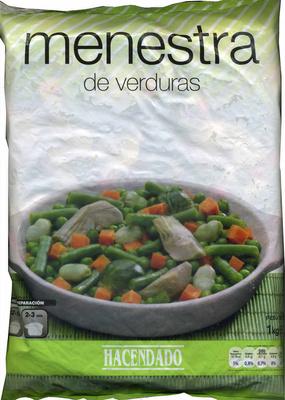 Menestra de verduras congelada hacendado 1 kg - Menestra de verduras en texturas ...