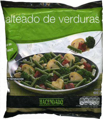 Salteado de verduras - Product