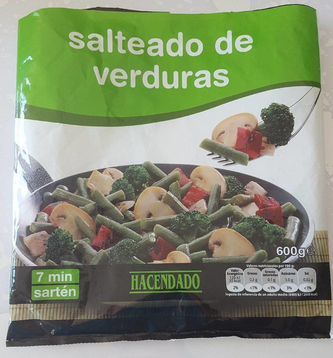 Salteado de verduras - Produit - fr