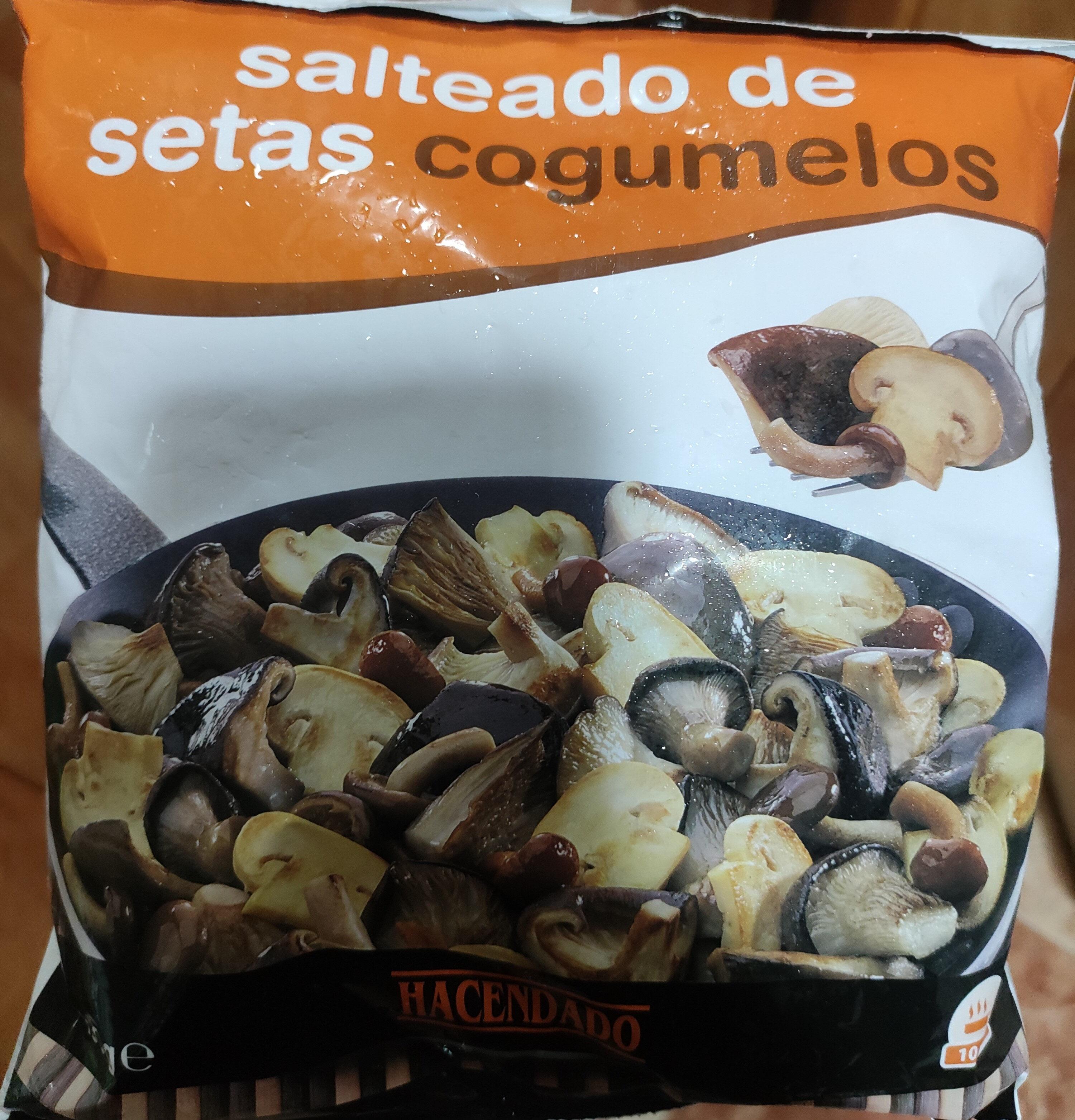 Salteado de setas cogumelos - Produit - es