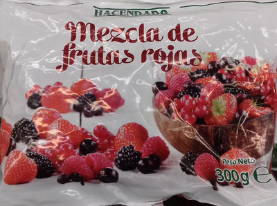 Mezcla de frutas rojas