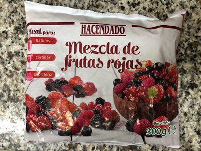 Mezcla de frutas rojas - Produit - fr