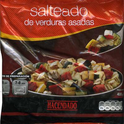 "Salteado De Verduras Asadas Congelado ""Hacendado"" - 400 G - Product"