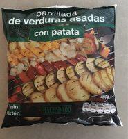 Parrillada de verduras asadas con patata - Produit - fr
