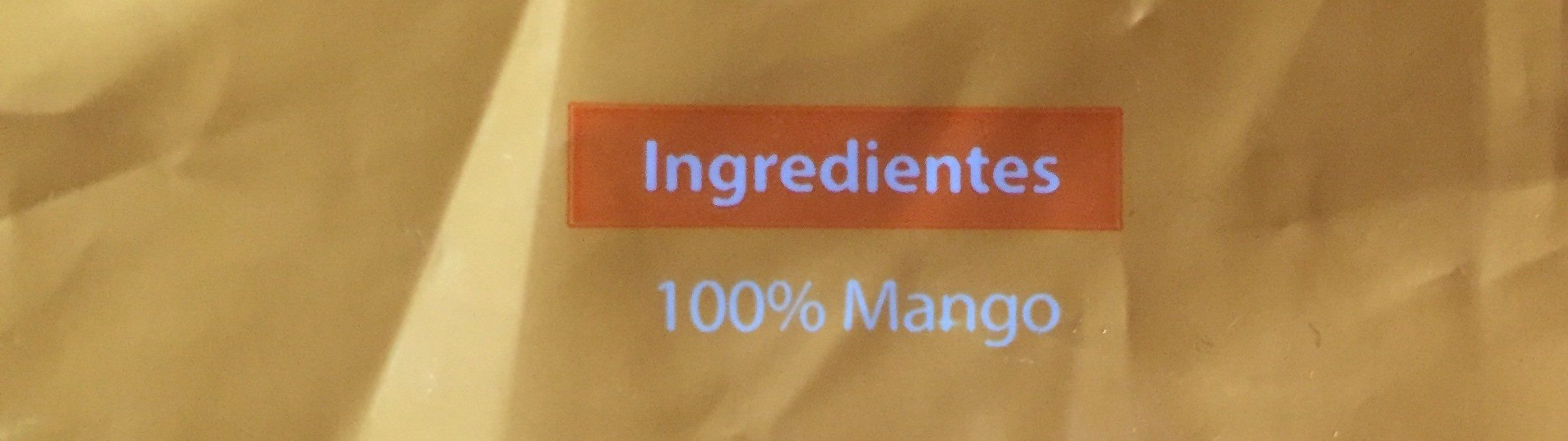 Mango dados - Ingrédients - fr