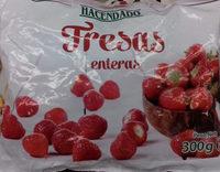 Fresas congeladas - Producte