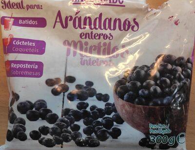 Arándanos enteros - Produit - fr