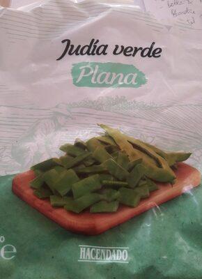 Judía verde plana ultracongelada