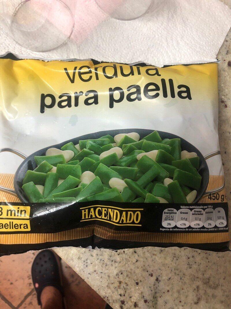 Verdura para paella - Produit - es