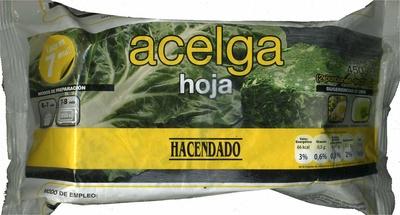 Acelga - Produit - es