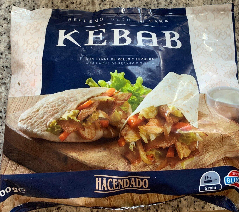 Relleno para kebab con carne de pollo y vacuno - Produit - es