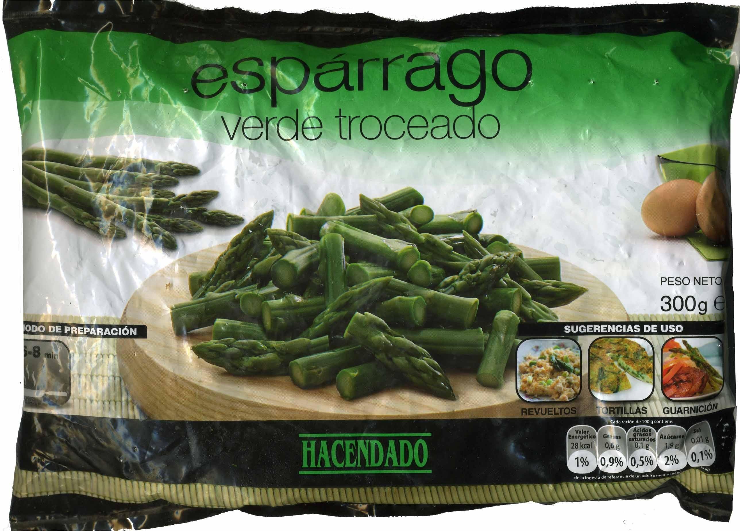 Espárragos verdes troceados congelados - Produit - es