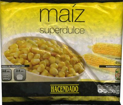 """Maíz dulce en grano congelado """"Hacendado"""" - Producto"""