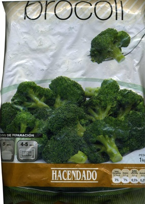 """Brócoli troceado congelado """"Hacendado"""" - Produkt"""