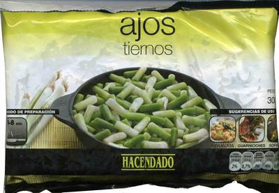 """Ajos tiernos troceados congelados """"Hacendado"""" - Produkt"""