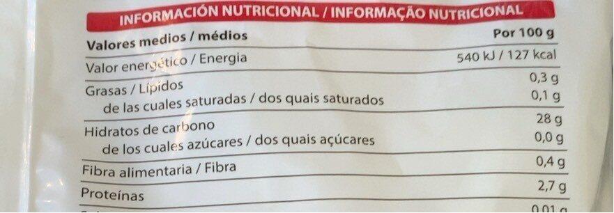 Arroz Precocido - Voedingswaarden - es