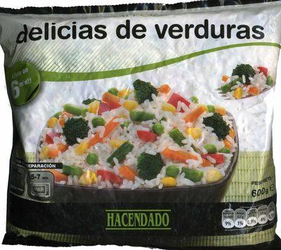 Arroz con verduras - Produit - fr