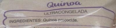 Quinoa congelada - Ingrédients - es