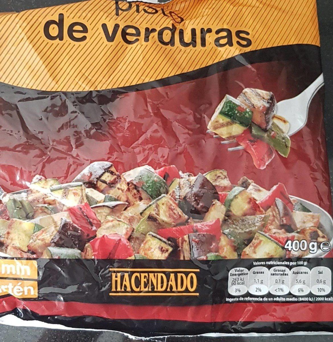Pisto de verduras congelado - Produit - fr
