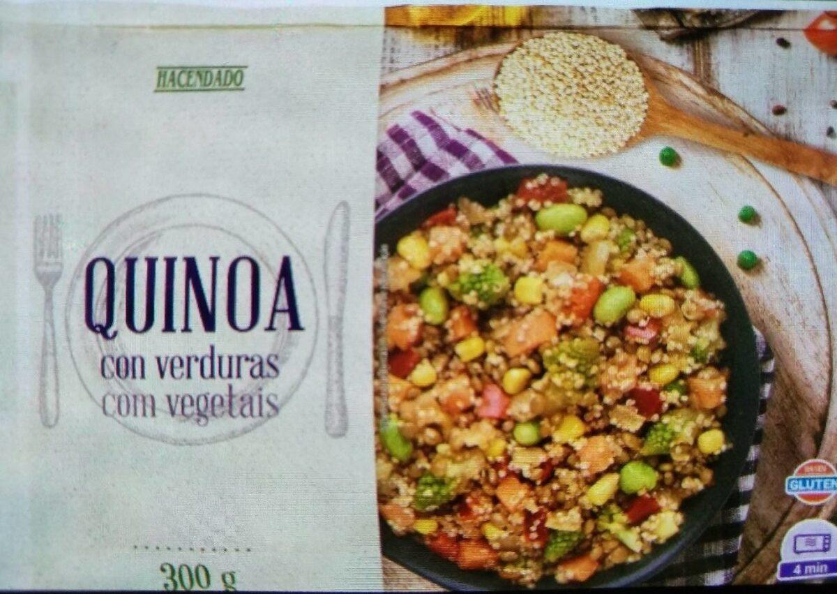 Quinoa con verduras - Producto - es