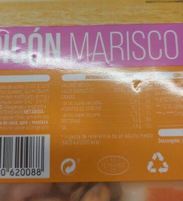 Salpicon marisco - Nutrition facts