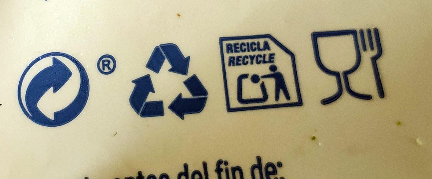 Merluza empanada - Recyclinginstructies en / of verpakkingsinformatie - es