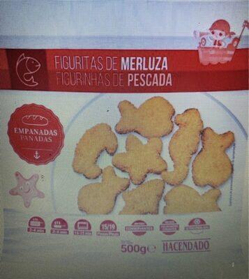 Figuritas de merluza empanadas - Produit - es