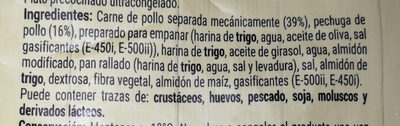 Nuggets Pollo - Ingredients