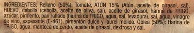 Empanadillas - Ingredients