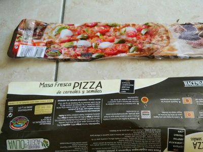 Masa Fresca Pizza de Cereales - Produit