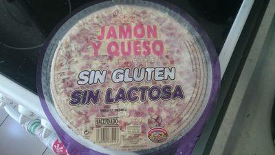 Pizza sin gluten jamón y queso - Produit