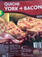Quiche york + queso - Producte