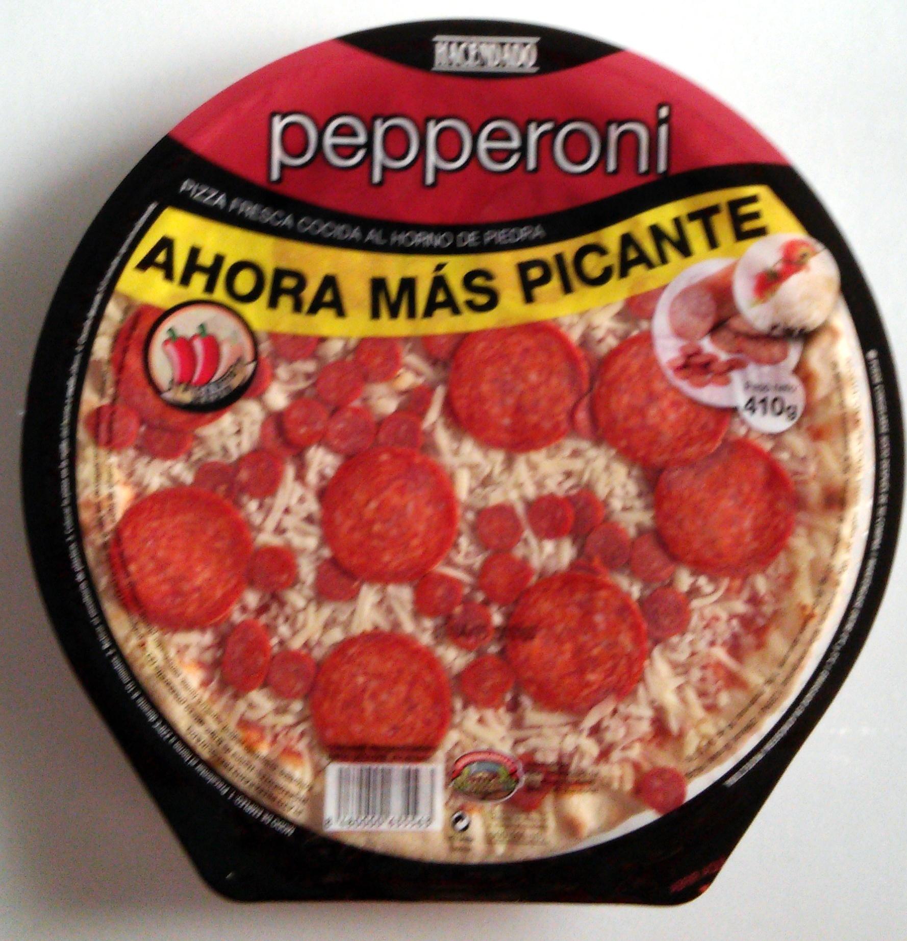 Pizza pepperoni - Producto
