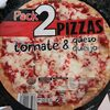 Pizza tomate y queso - Produit