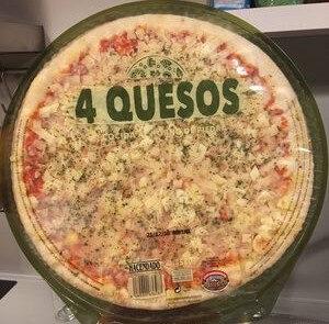 Pizza 4 quesos - Producte - es