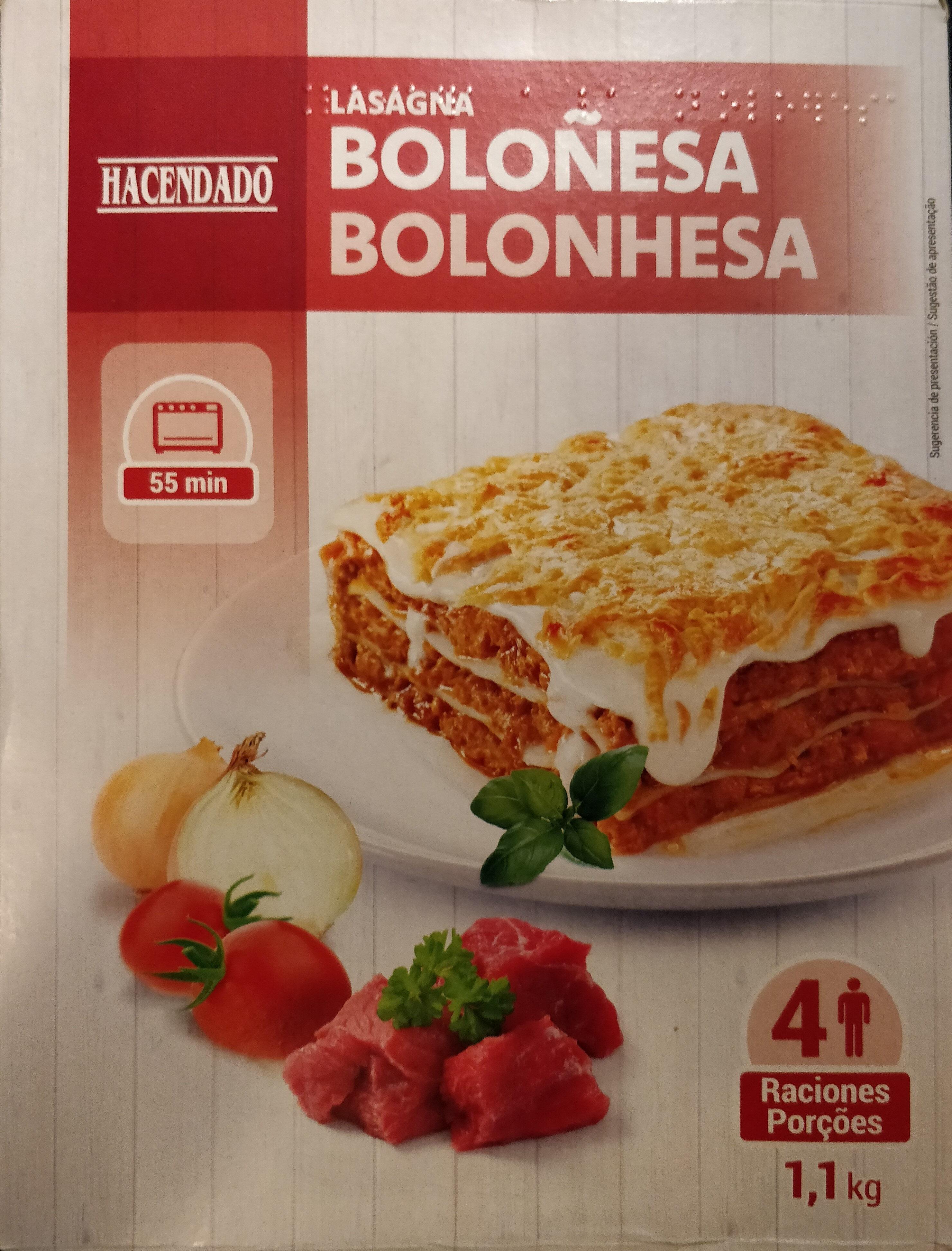 Lasaña Boloñesa - Product