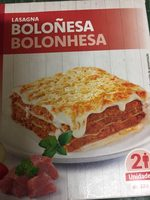 Lasagna boloñesa - Producto - de