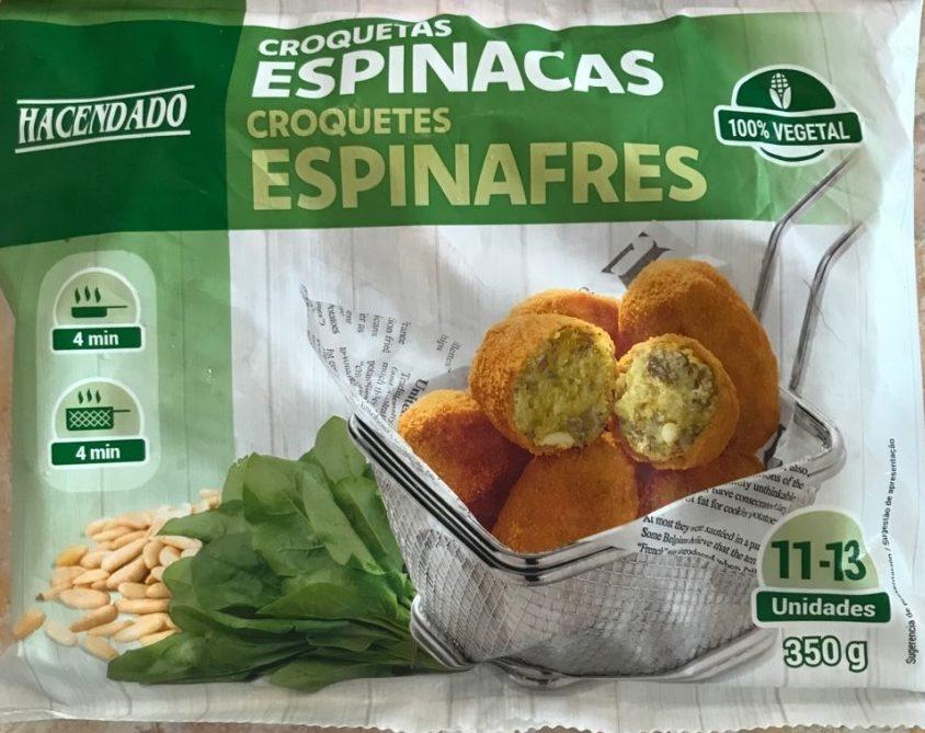 Croquetas Espinacas - Producte