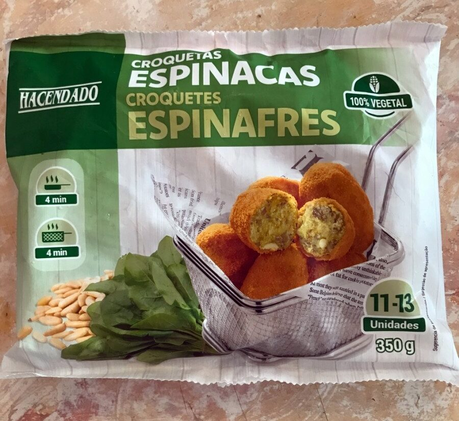Croquetas espinacas - Producto - es