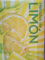 Helados de Limón - Producto