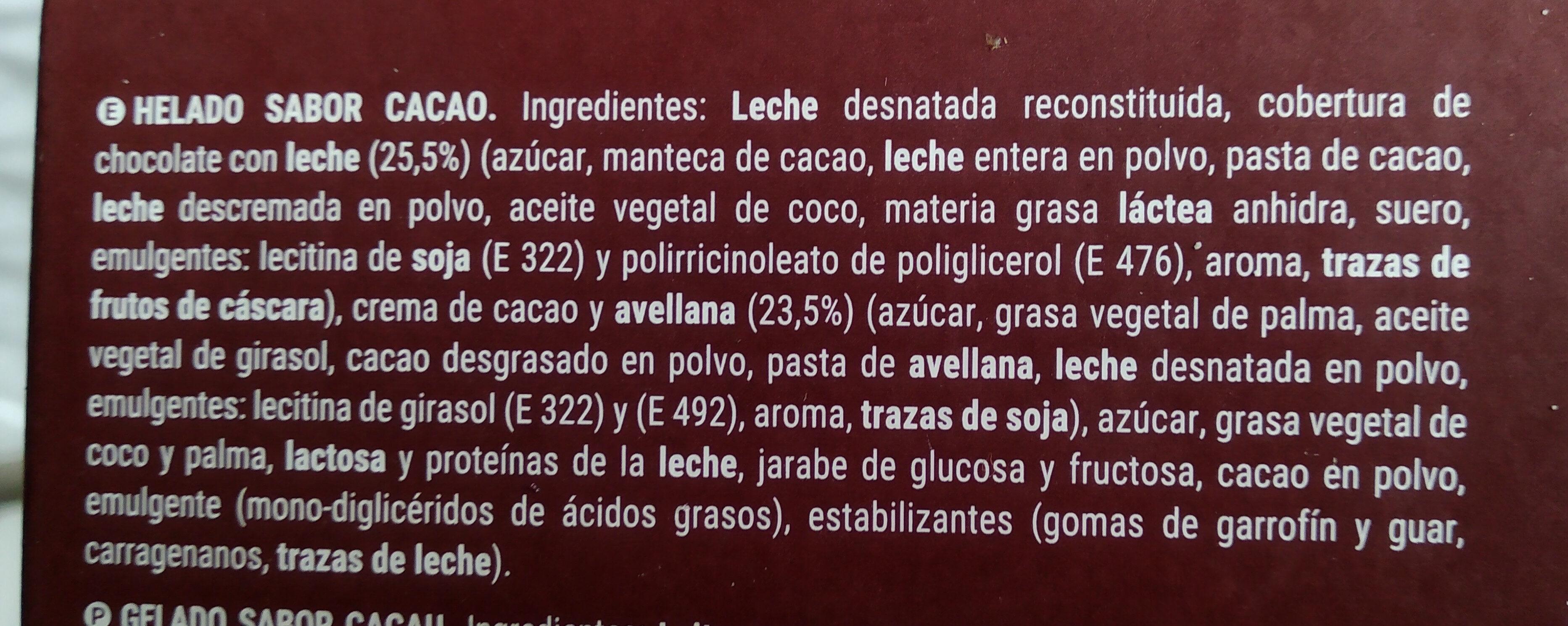 Mini almendrado - Ingredients - es