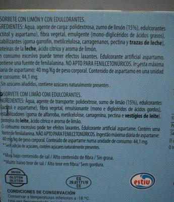 Cremoso - Ingredientes