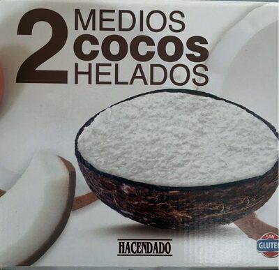 Medios cocos helados - Producte