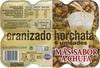 Granizado horchata - Producto