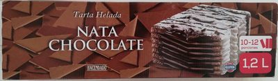 Tarta Helada Nata Chocolate - Producto