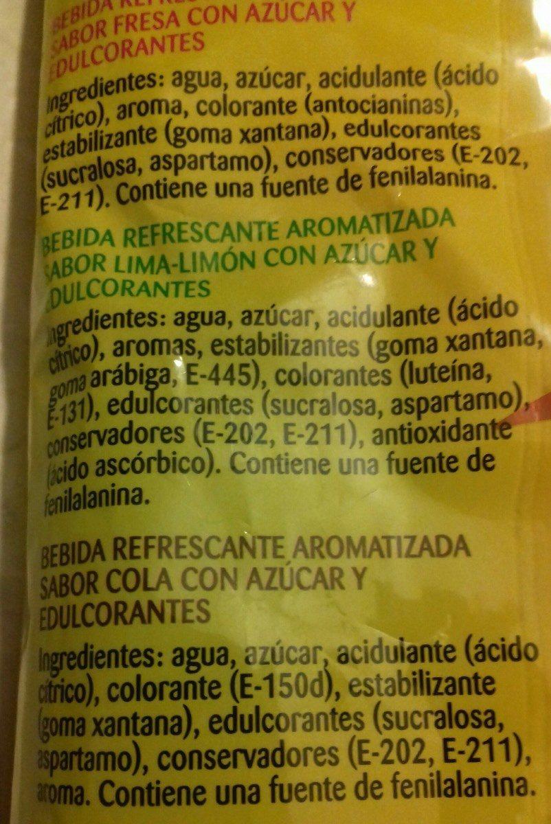 Popitos flash - Ingredientes - en